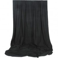 Impact Muslin Background - 10 x 12' (Black)