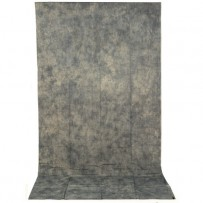 Impact Crushed Muslin Background (10 x 24', Gray Mist)