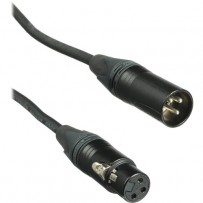 Kopul Premium Performance 3000 Series XLR M to XLR F Microphone Cable - 2' (0.61 m)