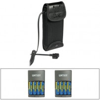 Bolt CBP-C1 Compact Battery Pack for Canon Flashes with 8 AA NiMH Batteries & (2) Chargers