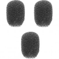 Auray WLF-018-3 Foam Windscreens for 1/8 Diameter Microphones (3 Pack)