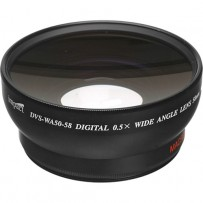 Impact DVP-WA50-58 58mm .5x High Grade Wide Angle Converter Lens with Macro Capabilities