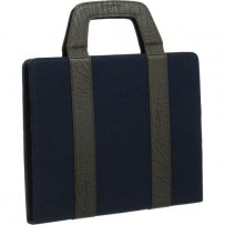 Xuma Tote Portfolio Case for iPad 2nd, 3rd, 4th Gen (Blue)
