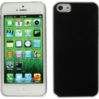 Xuma Aluminum Snap-on Case for iPhone 5 (Black)