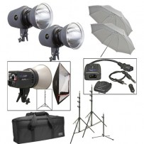 Impact Three Light Portrait Backlight Kit (120VAC)