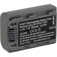 Watson NP-FP50 Lithium-Ion Battery Pack (7.4V, 650mAh)
