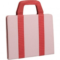 Xuma Tote Portfolio Case for iPad 2nd, 3rd, 4th Gen (Pink)