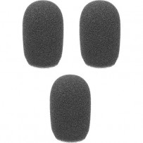 Auray WLF-038-3 Foam Windscreens for 3/8 Diameter Microphones (3 Pack)