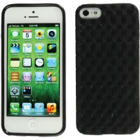 Xuma Textured Flex Case for iPhone 5 (Black)