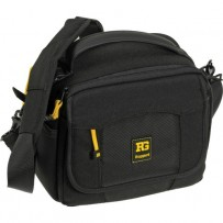 Ruggard Fast-Action Bullet 35 Shoulder Bag (Black with Gray Interior)