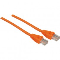 Pearstone 10' Cat5e Snagless Patch Cable (Orange)