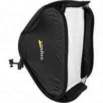 Impact Quikbox Softbox (24 x 24) With Adapter Ring and Mounting Bracket
