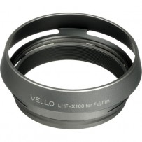 Vello LHF-X100 Dedicated Lens Hood with Adapter Ring for Fujifilm FinePix X100 Digital Camera