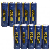 Watson AA NiMH Rechargeable Batteries (2300mAh) - 10-Pack