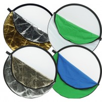 Impact 7-in-1 Collapsible Reflector Disc (22/55.9 cm Diameter)