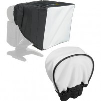 Vello Universal Bounce Diffuser and Mini Softbox Kit