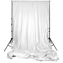 Impact Background Support Kit - 10 x 12' (White)