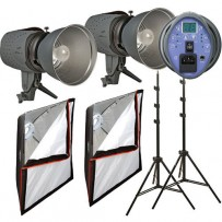 Impact Two Monolight Softbox Kit (120VAC)
