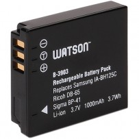 Watson IA-BH125C / DB-65 / BP-41 / D-Li106 Lithium-Ion Battery Pack (3.7V, 1000mAh)