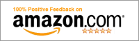 Amazon.com 100% Positive Feedback Badge